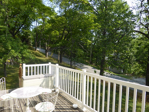 gorebay manitoulin island ontario summer frontporch porch view stonehouse thestonehouse bb bedandbreakfast
