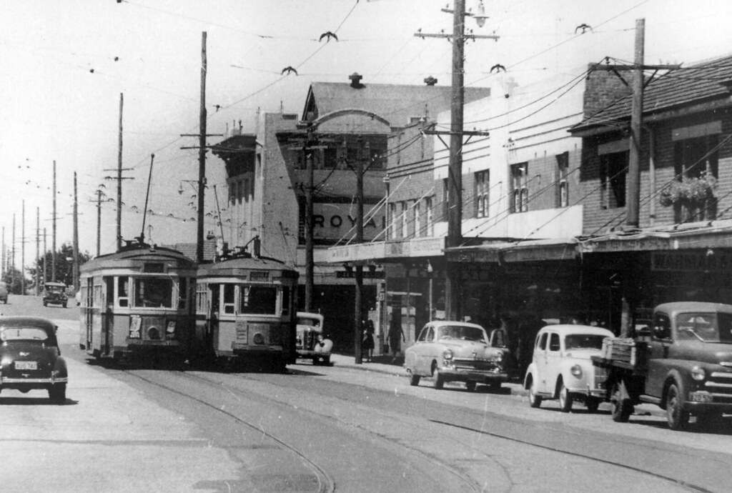 Royal Threatre, R Class Trams, Willoughby, Sydney, NSW.