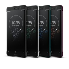 Xperia XZ3_Style Cover Touch SCTH70_Group_Front40