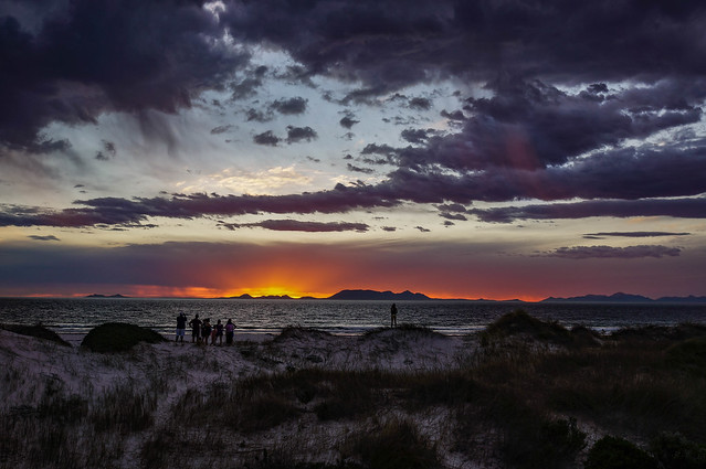 Sunset from Pringle Bay, South Africa