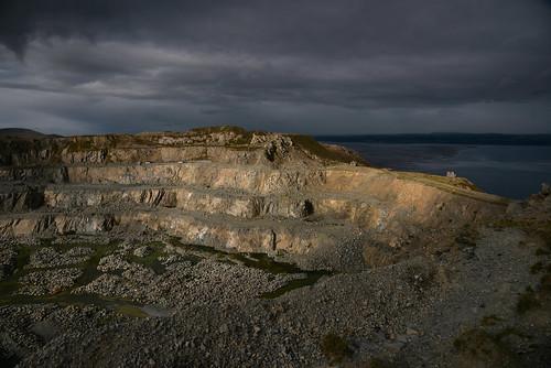 penmaenmawr granite quarry northwales
