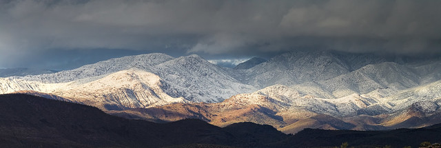 Four Peaks Winter Storm