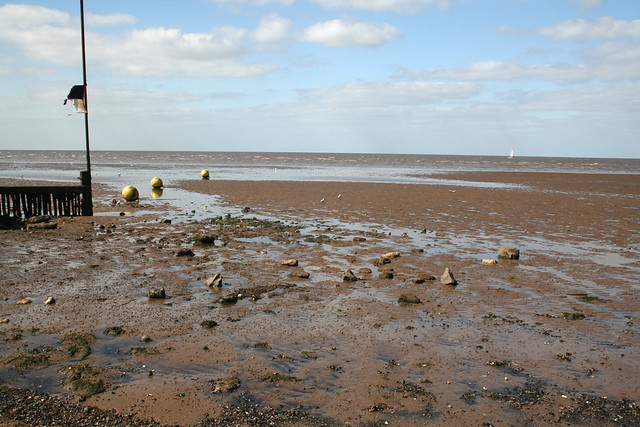 The coast south of Heacham