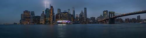 Downtown NYC Panorama