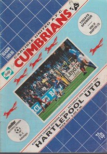 Carlisle United V Hartlepool 28-10-89 | by cumbriangroundhopper