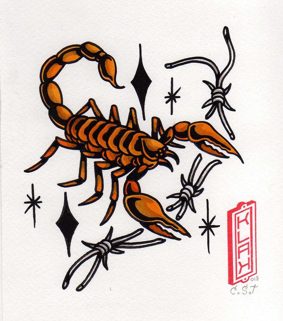 Dibujo De Un Escorpion Dorado escorpión dorado | bastian klak | flickr