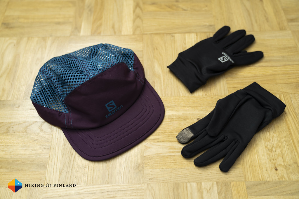 Salomon Air Logo Cap And Active Gloves I M Back To Running Flickr