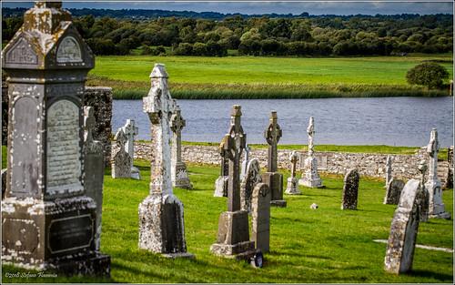 clonmacnoise antico rovine ireland irlanda monastero