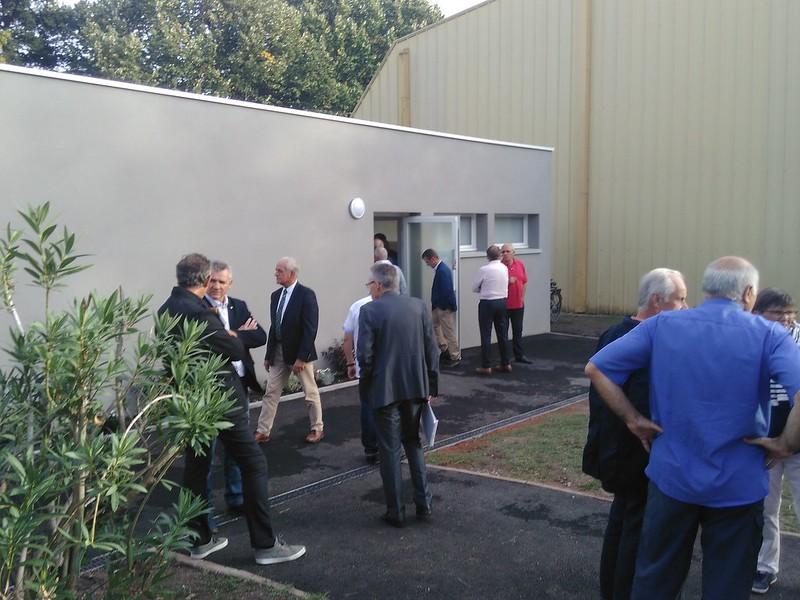 Inauguration Bâtiment vestiaires/salle de réunion
