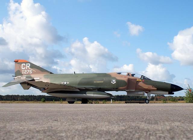 67-0275/CR F-4E PHANTOM 32TFS/USAFE