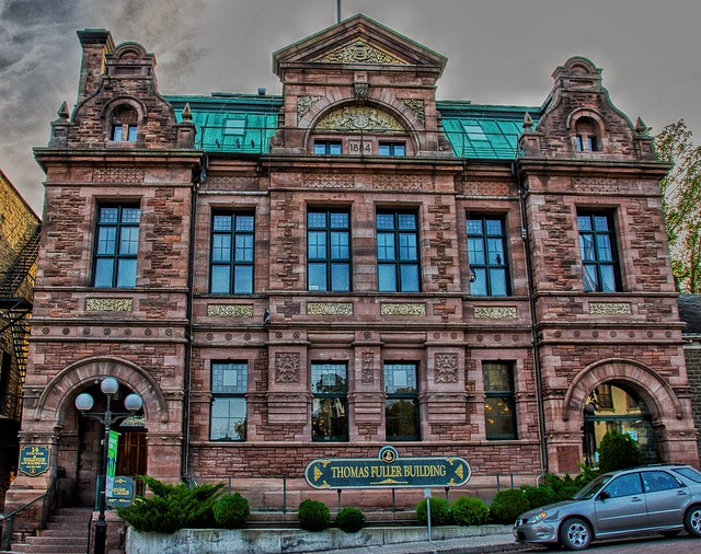 Brockville Ontario - Canada - Thomas Fuller Building - Former Old Post  Office  - Heritage