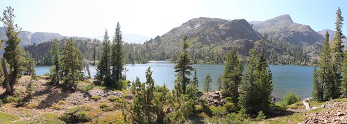 2679 Panorama shot from the Pacific Crest Trail looking west at Susie Lake | by _JFR_