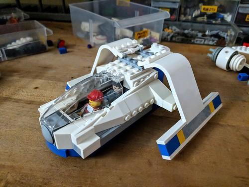 Dry-dock Shuttle WIP update   by Ninja_Bait