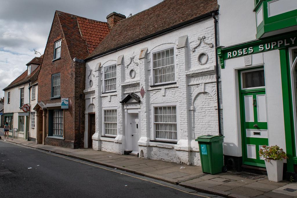 The Old Dutch House Taken At Sandwich Kent Steve Janes