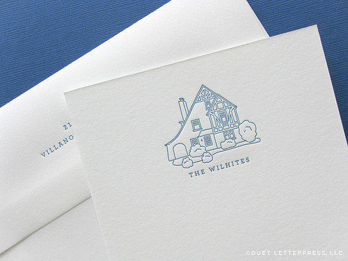 house no.70 / note cards | by duetletterpress