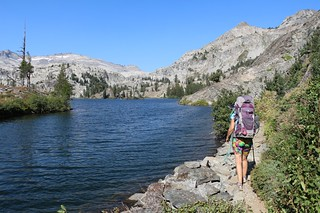 2822 The eastern end of Heather Lake from the Pacific Crest Trail with Mount Price left of center   by _JFR_