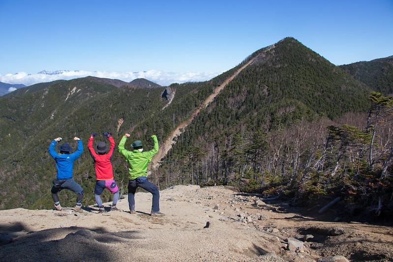 甲武信岳の集合写真