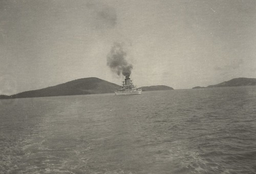 U.S. Battleship Maine off Culebra Island, ca 1895maine | by The Caribbean Photo Archive