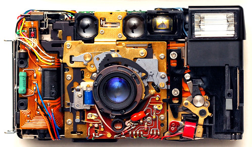 A Naked Nikon L35AF | See all my Disassembled Camera Gear