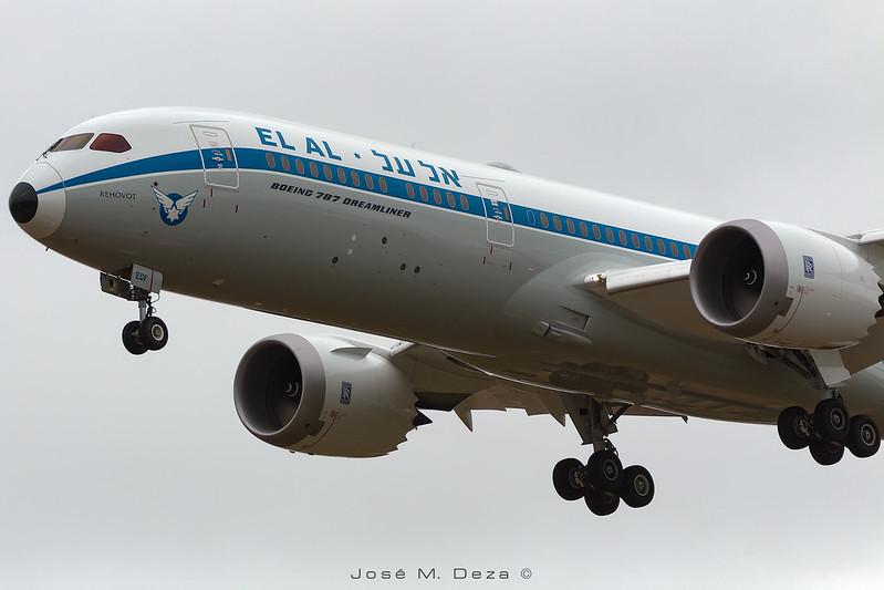 """EL AL B787-9 4X-EDF """"Retro"""""""