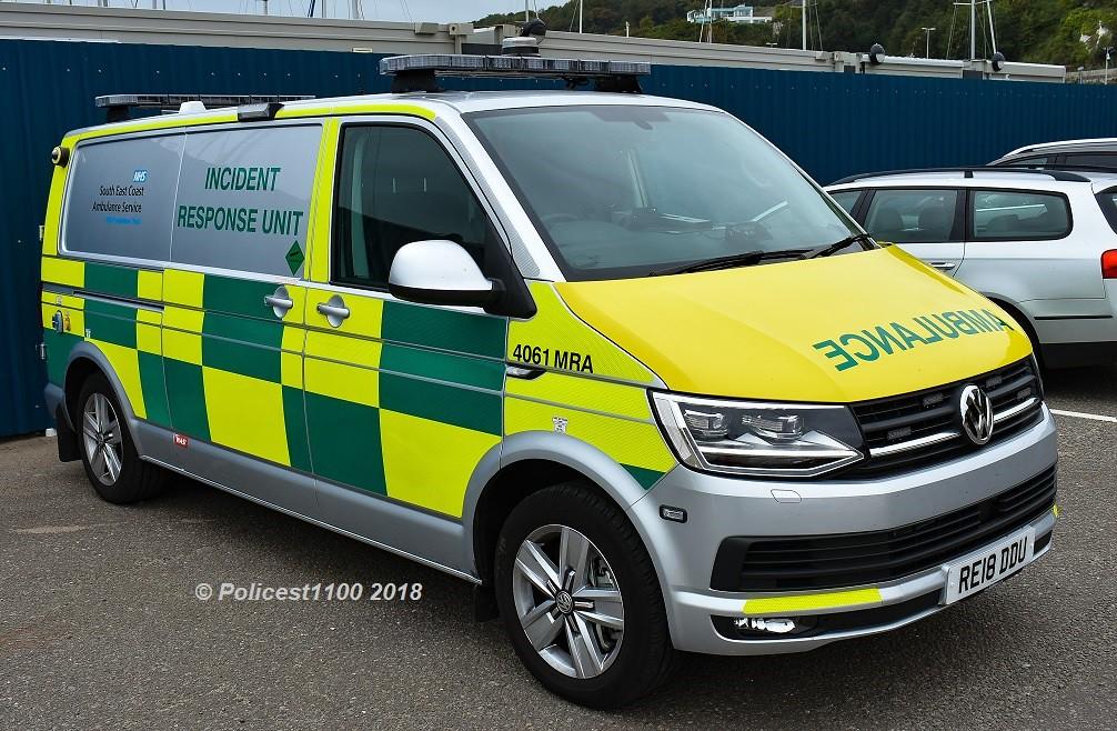 East Coast Vw >> South East Coast Ambulance Hart Team Vw Transporter Re18 D