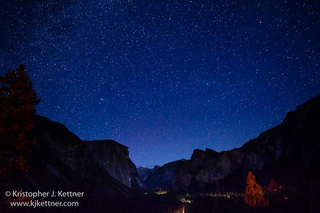 Yosemite Valley Under the Stars
