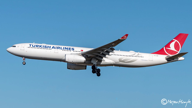 Turkish Airlines, Airbus A330-343, TC-LOB, 1491, August 2018