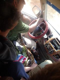 Gun on the driver's lap | by Masa Sakano