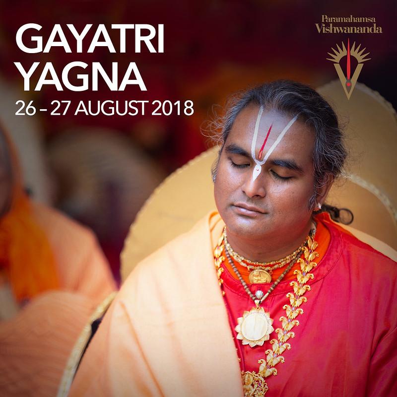 Gayatri Yagna 2018 – Paramahamsa Vishwananda