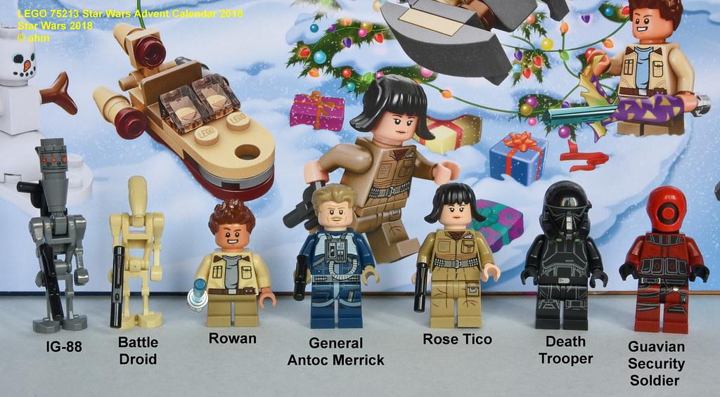 GENERAL MERRICK Minifigure LEGO STAR WARS 75213 Advent Calendar 2018
