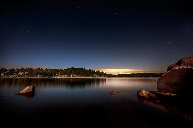 Moonlit Reservoir