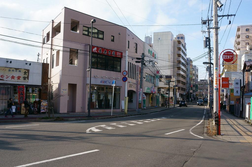 北仙台駅前西方向