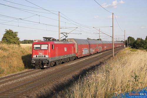 143 020-6 ,  Eilsleben (b Magdeburg) . 26.07.18.