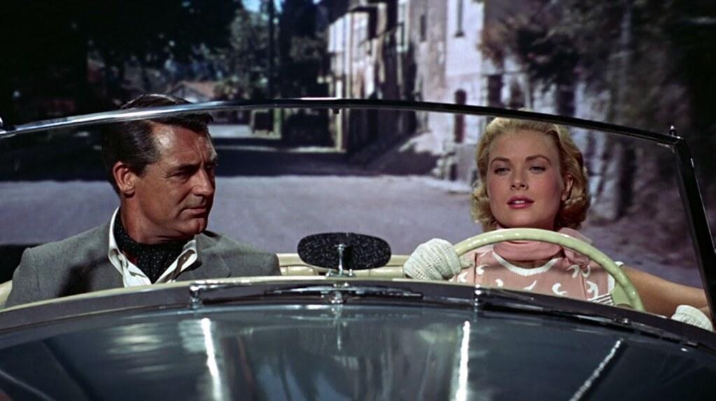 Cary Grant --Grace Kelly dieulois