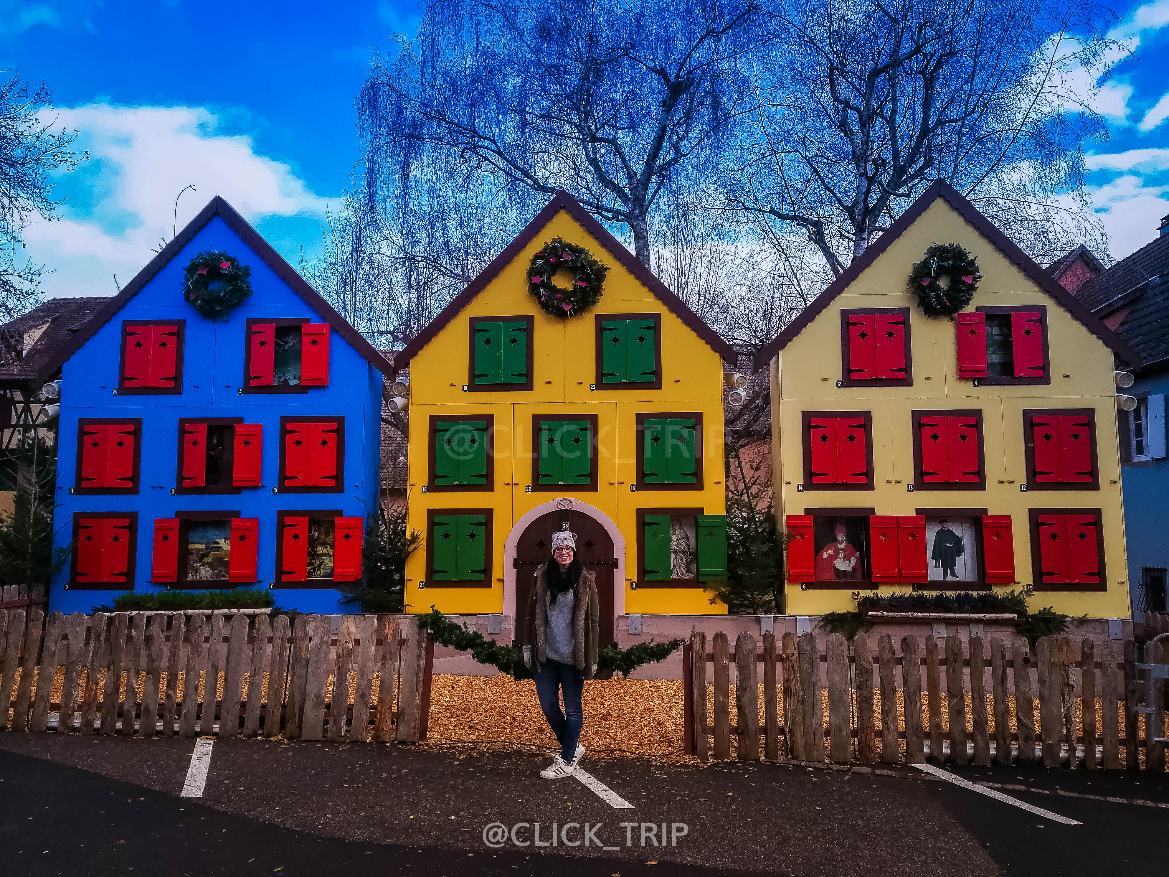 · Calendario de Adviento de Turckheim · Alsacia en Navidad ·