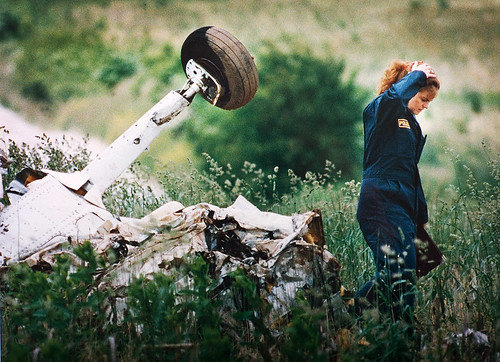 Small Airplane Crash 1990's Maryland