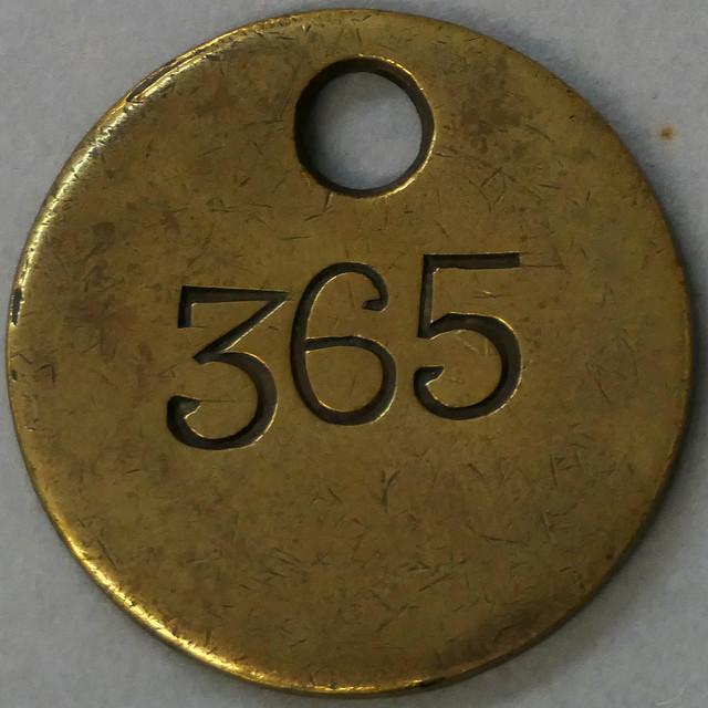 brass fob - 365