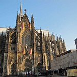 Das Südportal des Kölner Doms