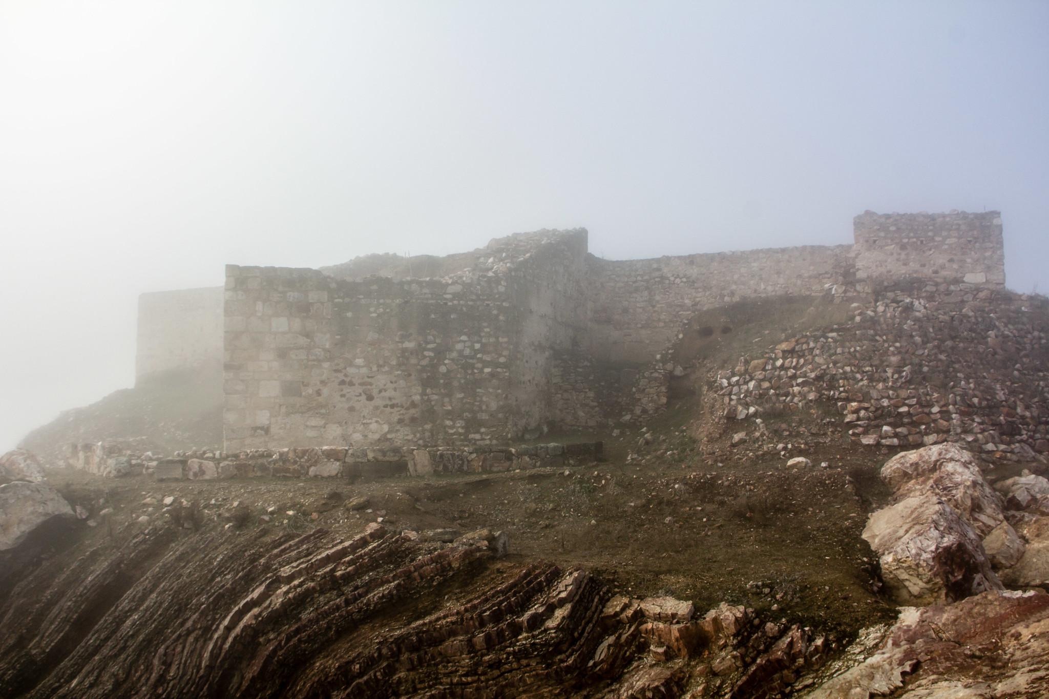 exterior Castillo Yacimiento Arqueologico de Alarcos Ciudad Real