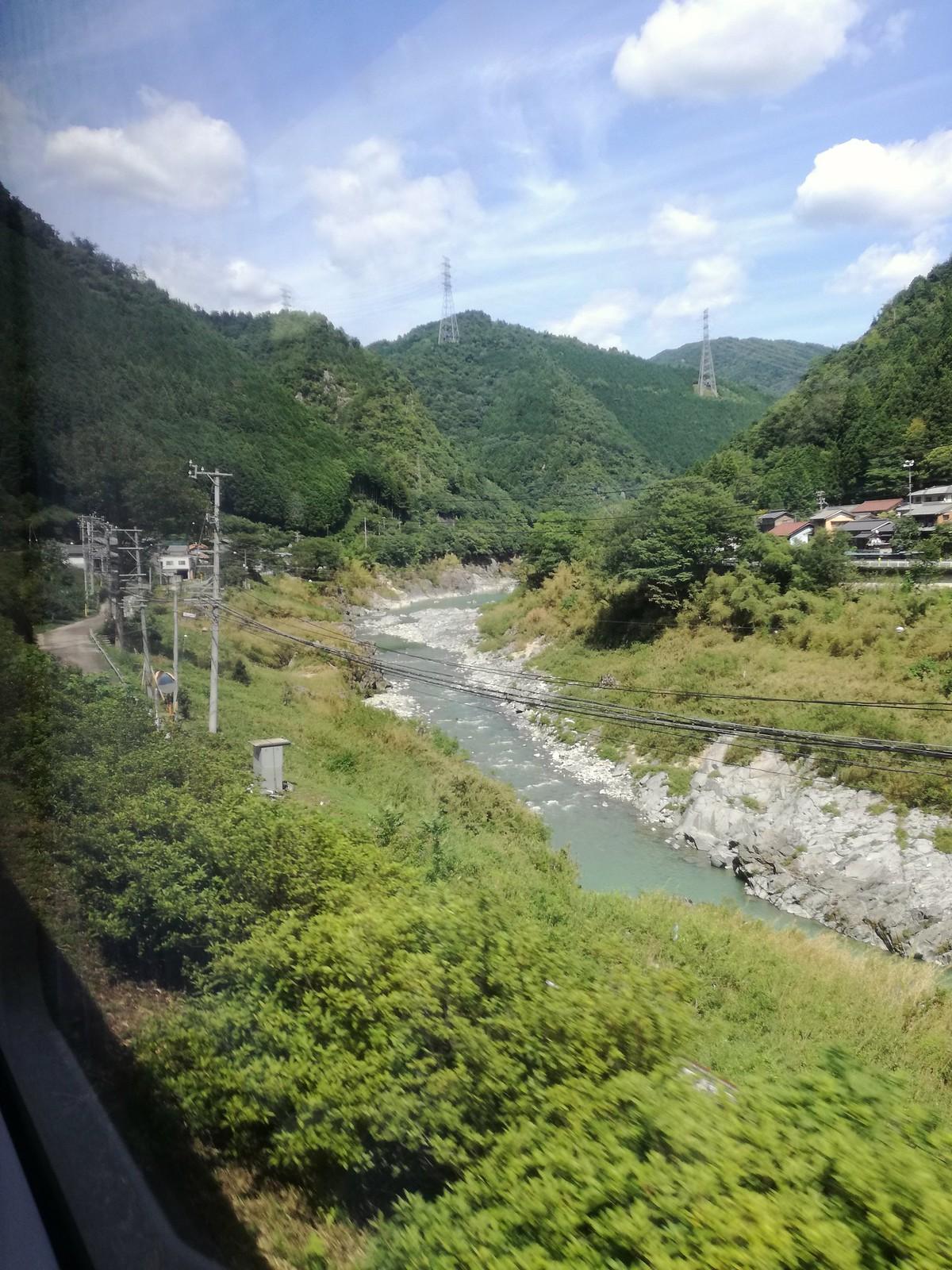 En route vers Takayama
