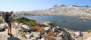 2949 The Pacific Crest Trail follows the shore of Lake Aloha for over 1.5 miles - it's a very large lake | by _JFR_