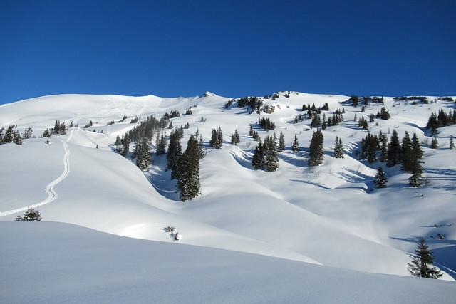 Kleinwalsertal, sneeuwschoenwandelen huttentocht