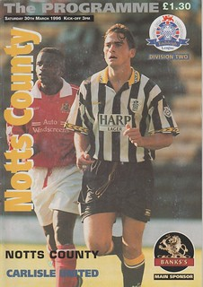 53.Notts County V Carlisle 30-3-96 | by cumbriangroundhopper