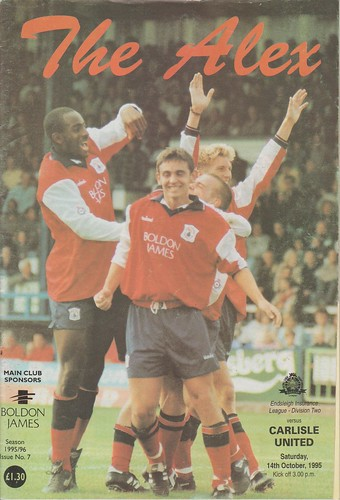 Crewe V Carlisle 14-10-95   by cumbriangroundhopper
