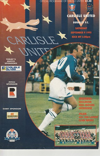 10.Carlisle V Burnley 9-9-95 | by cumbriangroundhopper