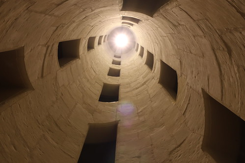 Inside of a stairwell