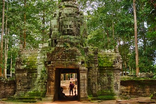 West entrance of Ta Som in Angkor Archeological Park near Siem Reap, Cambodia | by UweBKK (α 77 on )