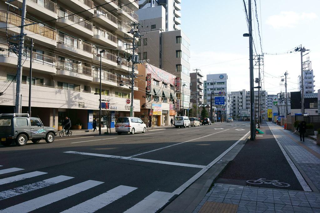 北仙台駅前通り