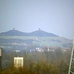 Halde Rungenberg in Gelsenkirchen von der Halde Schurenbach aus gesehen