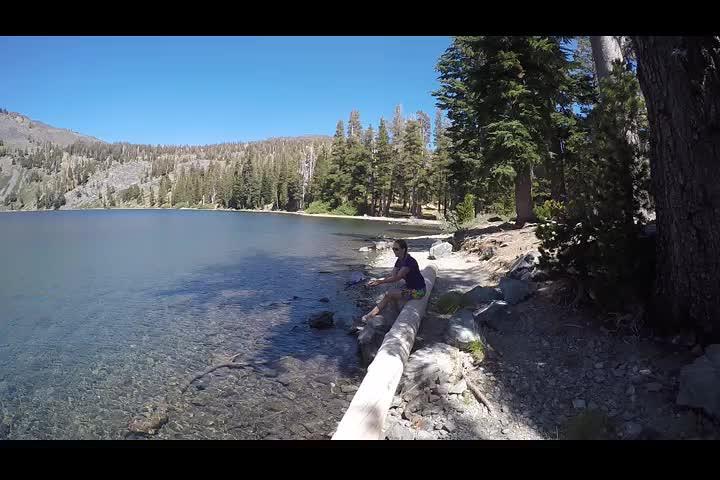 2607 GoPro panorama video of Gilmore Lake